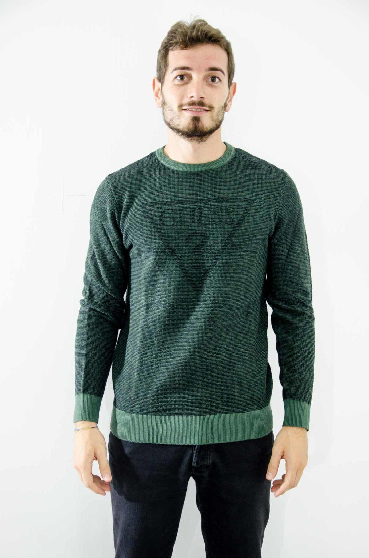 guess-maglia-verde-uomo