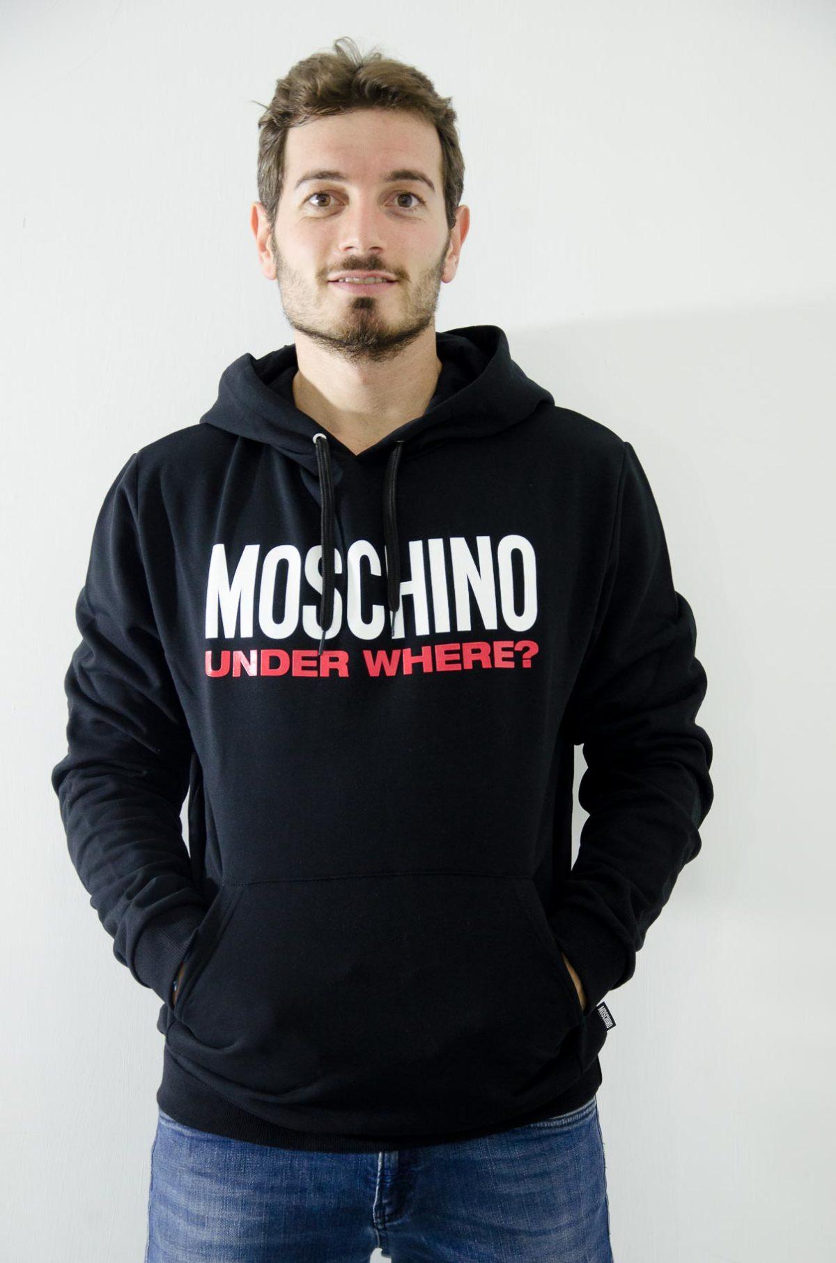 Moschino Felpa Uomo