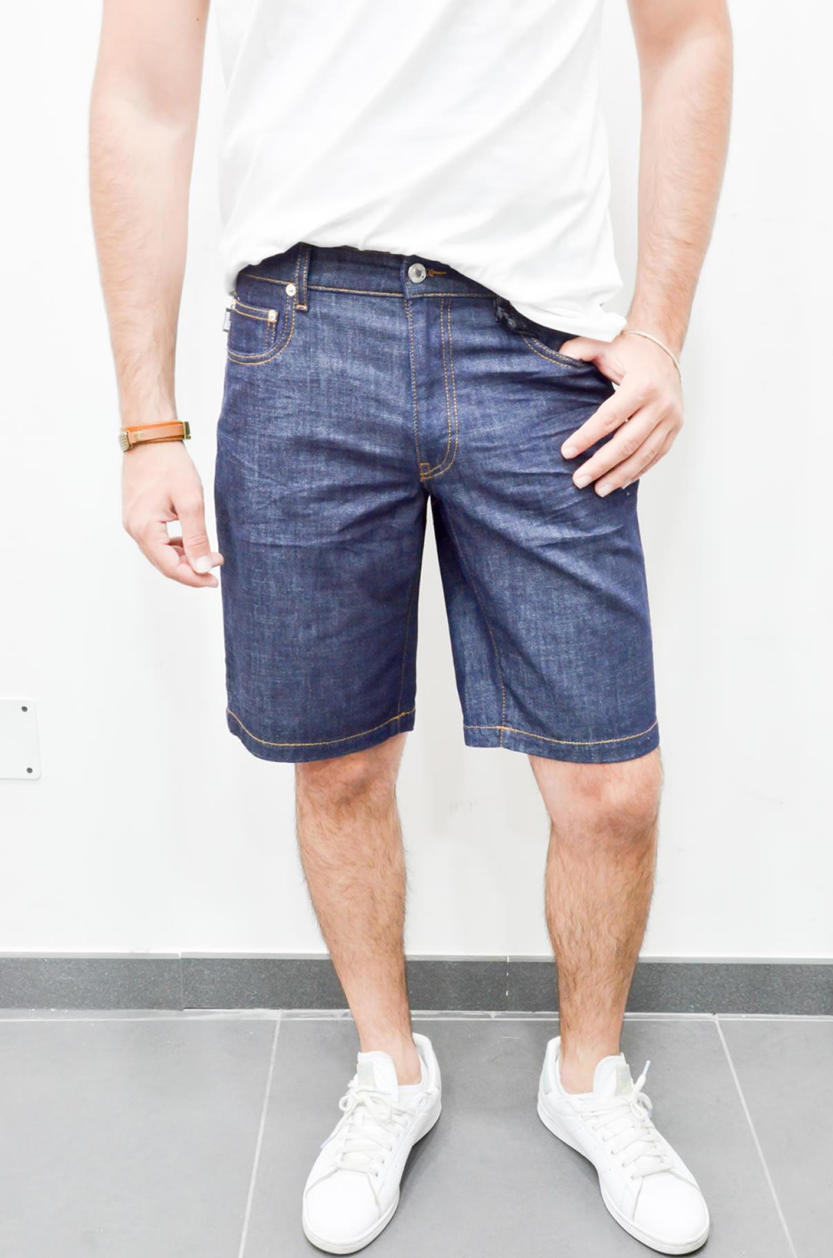 a01e1f2725f3 Moschino – Bermuda in jeans Uomo – Fashion Italy